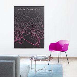 Hódmezővásárhely térkép