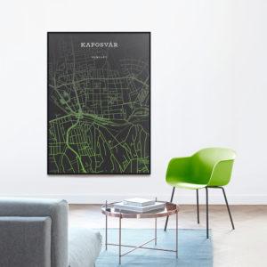 kaposvár térkép
